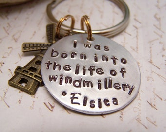 Windmill Keychain. Pushing Daisies. Ned. Chuck. Elsita. I was born into the life of Windmillery
