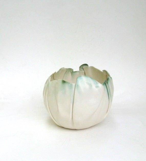 hand built porcelain balloon bowl