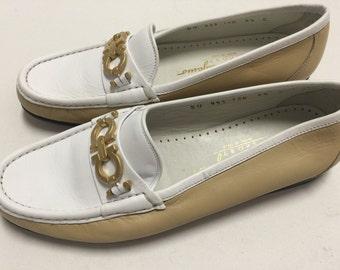 Feragamo Loafers vintage 1980s