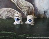 Spooky Eye Candles dollhouse miniature, spooky, halloween, creepy in 1/12 scale