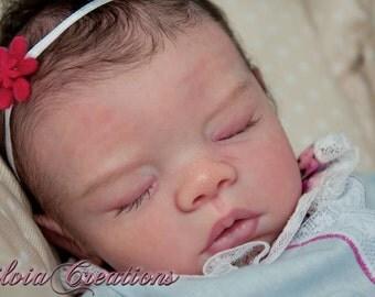 "Basic ~ Baby Megan ~ Reborn 16"" Kit for you to make by Marissa May"