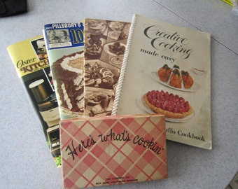 Vintage Recipe Booklets and Recipe Cards 1920's to 80's