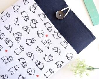 """Pandas iPad Case, iPad Pro Case, iPad Pro Sleeve, iPad Pro 9.7"""", iPad Pro 12.9"""" iPad Pro Case - Cute Panda Bears"""