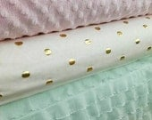 mint and gold  Baby girl bedding  includes bumper set , fitted sheet, and crib skirt click to see more pics