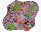 Liner Core- Kitten Town Reusable Cloth Petite Pad- WindPro Fleece- 6.5 Inches