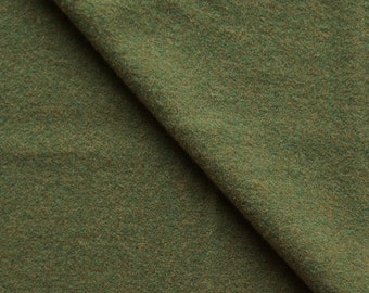 Fall Grass Green Felted Wool Fabric in 100% Wool in  Perfect For Rug Hooking, Applique, and Crafts Projects