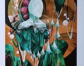 "Sole : Dioptase - 11×17"" Artist Print"