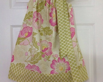 READY TO SHIP Poppies Pillowcase Dress Size 5