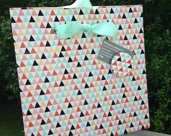 Tribal Pattern, Magnet Board, Baby Nursery, Change Ribbon, Bulletin Board, Fabric Magnet Board, Magnetic Board, Message Board