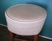 Barstool Slipcover Bar Stool Cushion Natural Brushed Denim Washable Bar Stool Covers