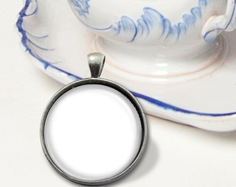 Four Templates - 1 Inch Round Glass Tray Pendants