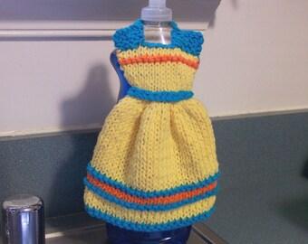 Handmade Dishcloth Dress