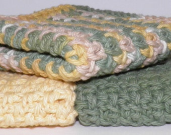 Set Of 3 Wash Cloths