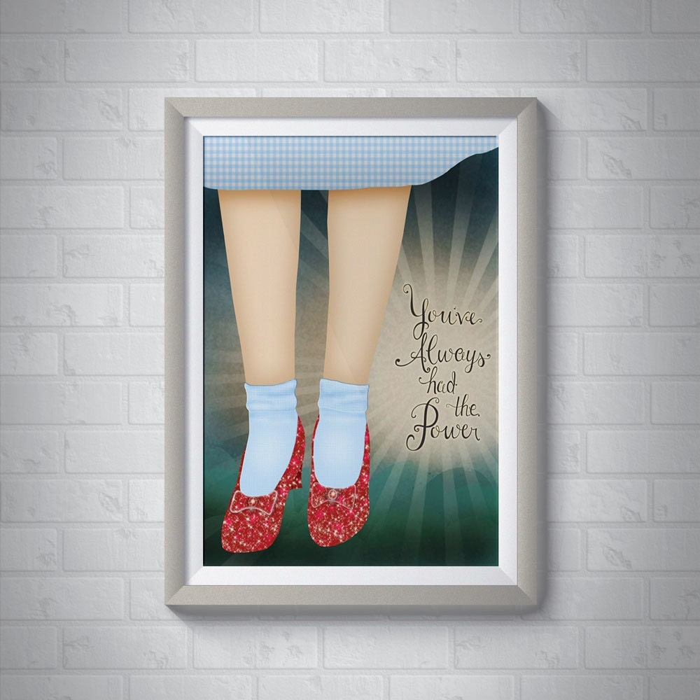 You've Always Had the Power | Wizard of Oz Giclee
