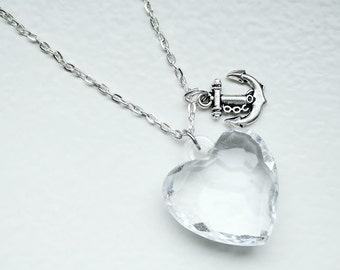 Love and hope necklace - long - 62cm