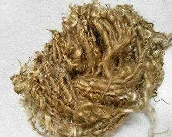 TailSpun Suri Alpaca Yarn, Tailspun Long Locks Yarn, Tailspun Yarn, Novelty Alpaca Yarn, Art Yarn, Golden Locks