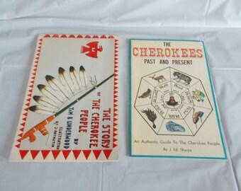 Vintage Cherokee Books //Lot