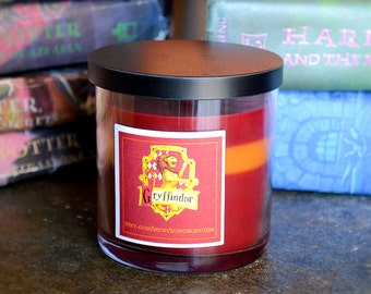Harry Potter Gryffindor House Candle