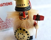 Vintage Christmas Ornament - Wooden Steinbach NOS - Viking