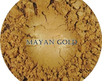 Loose Mineral Eyeshadow-Myan Gold