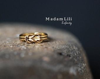 INFINITY Vintage Knuckle Ring