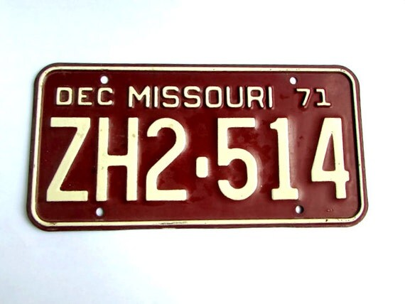 Cost To License A Car In Missouri