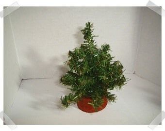 Artificial Pine Tree Decoration /Small /Holiday Decorations/ Supplies*
