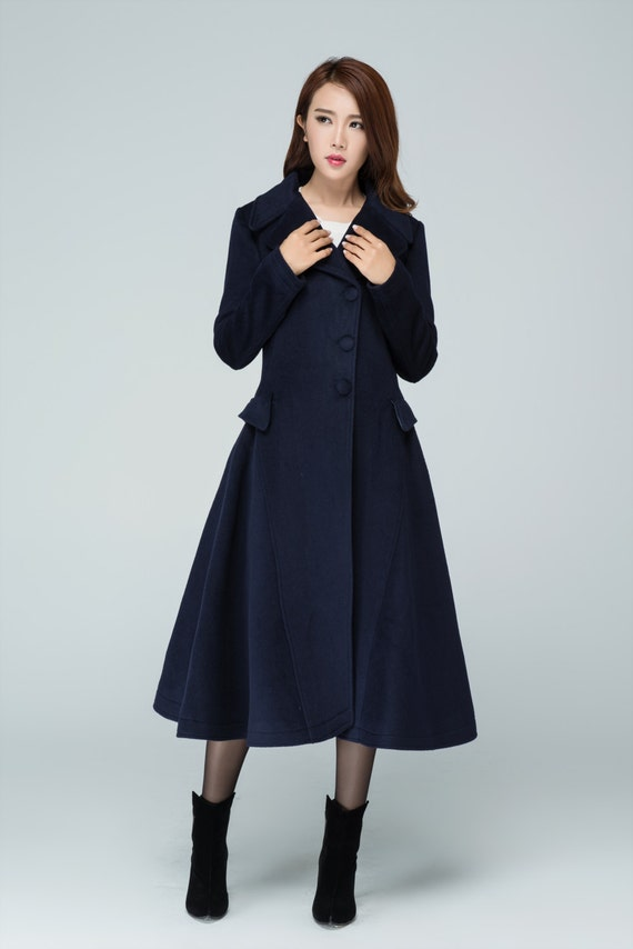 Custom coat woman wool coat long coat womens coats winter