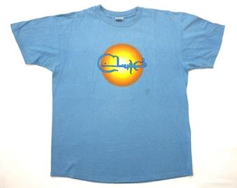 Clutch Vintage 90's World Tour Concert T Shirt National Rule Funk Metal Stoner Rock