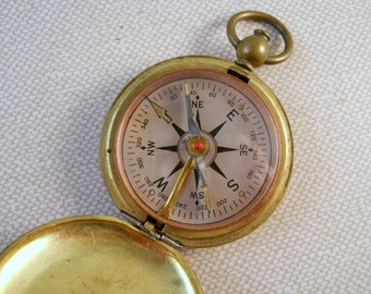 World War Two Taylor U.S. Corp of Engineers Brass Compass Works