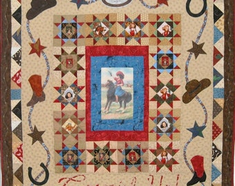 Cowgirl Up! Quilt Pattern, PDF version
