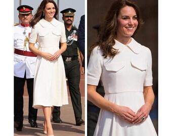 royal swing shape dress custom made all sizes