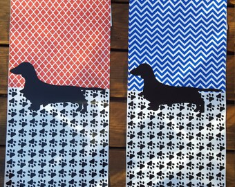 Dachshund Personalized Garden Flag