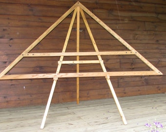 Oak triloom - 7 foot with insert to make a 5 foot triangle- Used - Prefer pick up