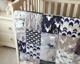 Pick Your 4 Favorite Swatches for Baby Boy Bedding
