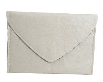 Linen Envelope Clutch