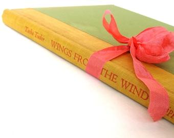 Wings From The Wind An Anthology of Poems Selected and Illustrated by Tasha Tudor, Tasha Tudor Art Vintage Tasha Tudor Book, Old Poetry Book