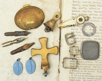 14 Salvaged Found Objects for Your Alrtred Art Assemblage Steampunk Craft Projects DIY Repurpose