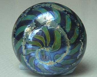 Cabachon /Pendant - Artisan Handmade Lampwork Glass Cabochon /Pendant