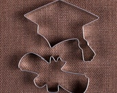 Graduation Cookie Cutter Set, Graduation Cap Cookie Cutter, Diploma Cookie Cutters, Metal Cookie Cutters, Biscuit Cutter, Pastry Cutters
