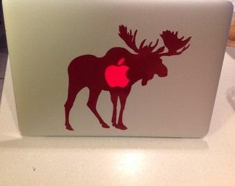 Moose Computer Decal