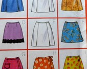 Skort  and Skirt Sewing Pattern UNCUT Butterick 5488 Sizes 12-16