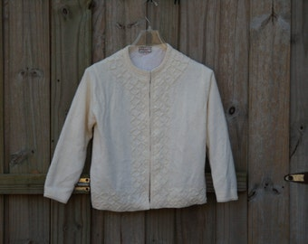Classic Pinup Beaded Sweater (50's)