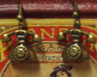 Rotary Phone Earrings