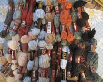 DMC Tapestry/Needlework Yarn - 39 Skeins
