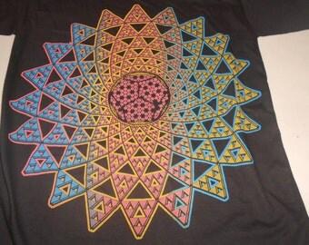 T-Shirt - Infinite Possibilities (Rainbow on Black)