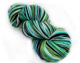 Cashmere Merino Hand Dyed Sock Yarn - 115g