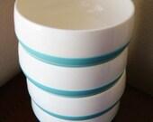 4- Bopp Decker Plastic Vacron Bowls - RV - Camping Dinnerware