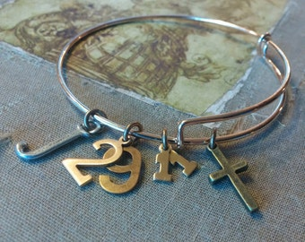 SCRIPTURE JEWELRY, Christian Bracelet, Jeremiah 29:11, For I know the plans I have for you