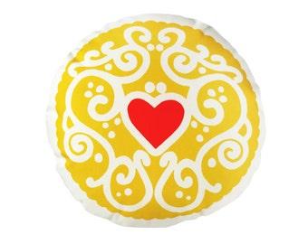Original Jammy Heart Printed Cushion